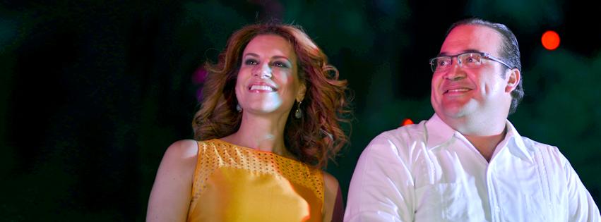 Javier Duarte y Karime Macias