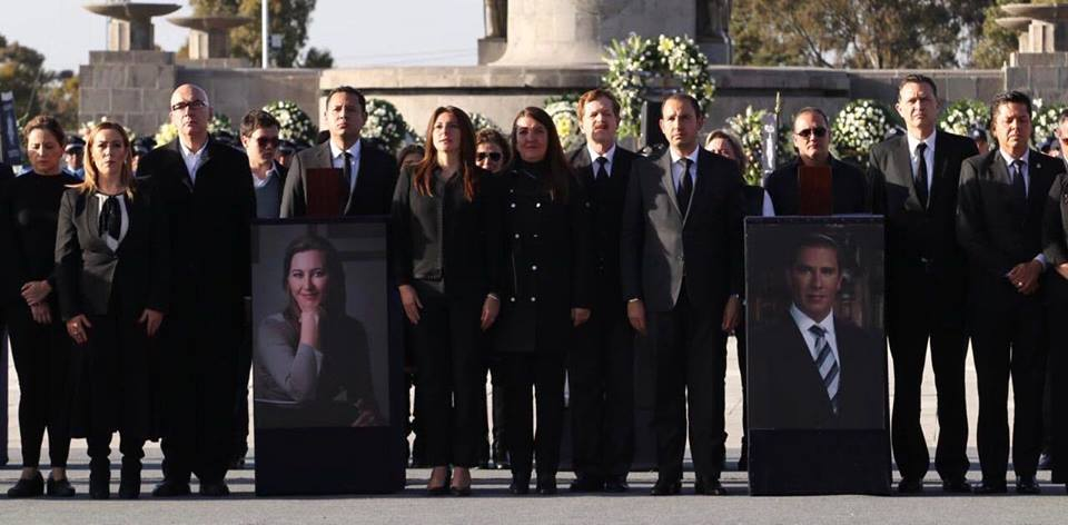 Funeral Martha Erika Alonso y Moreno Valle