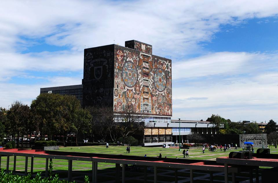 Biblioteca Central, Ciudad Universitaria. UNAM