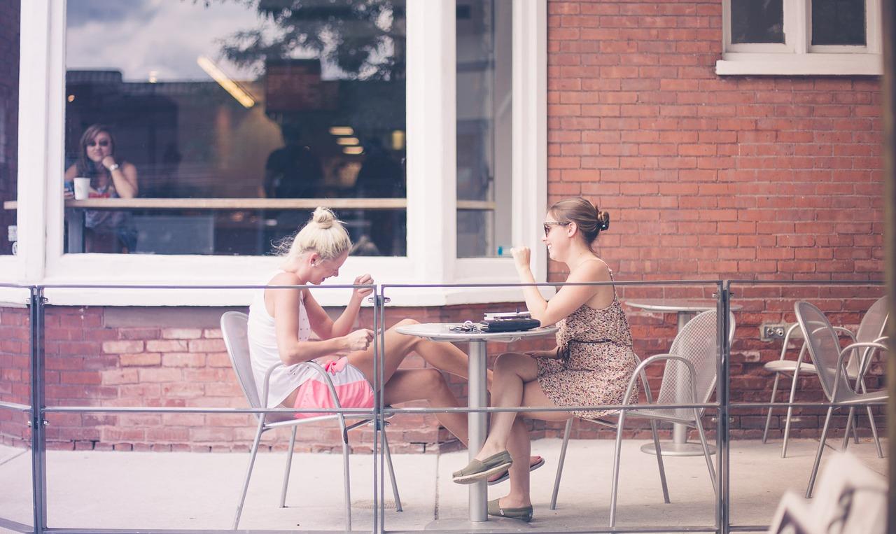 Chicas café