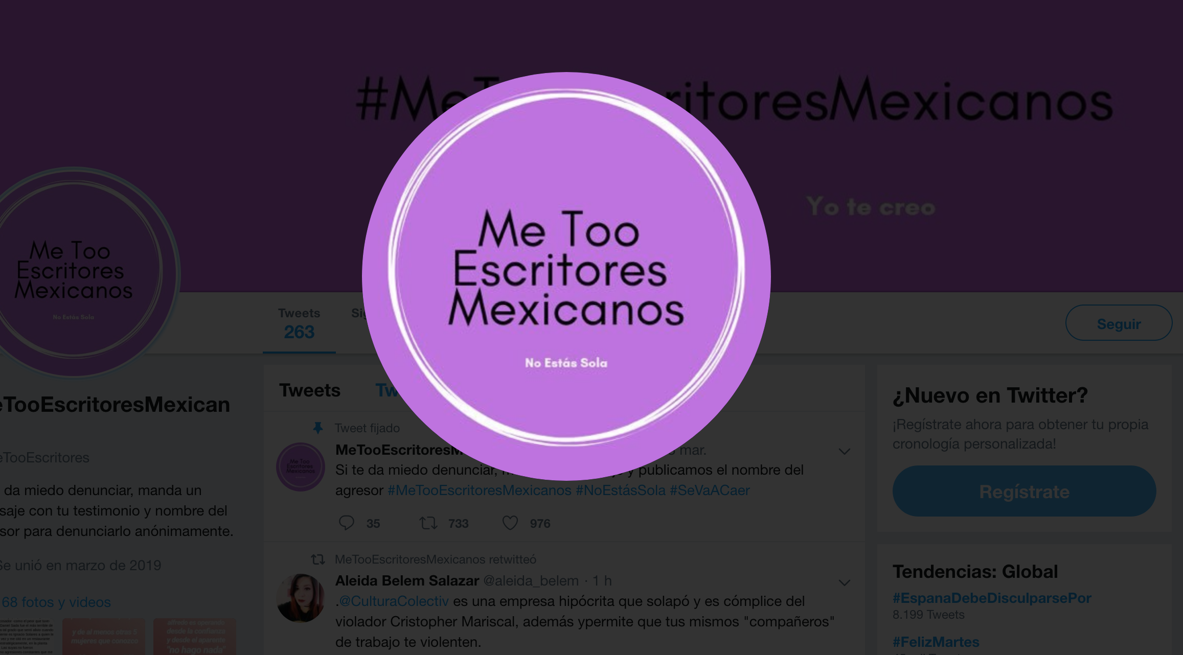 #MeTooEscritoresMexicano