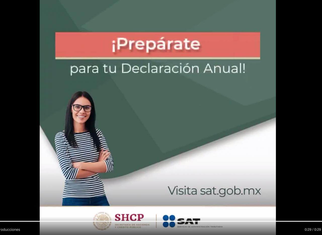 SAT Declaración Anual