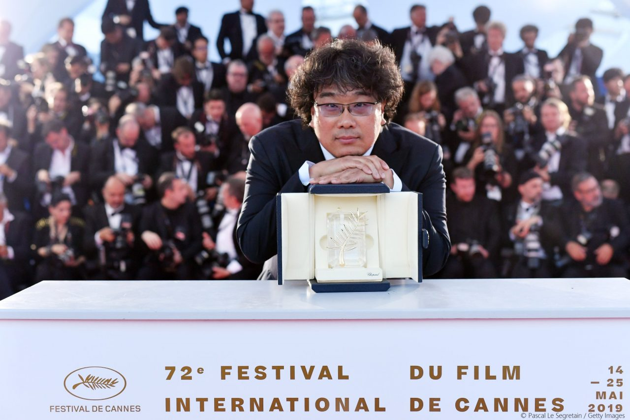 Cannes winners Bong Joon-Ho