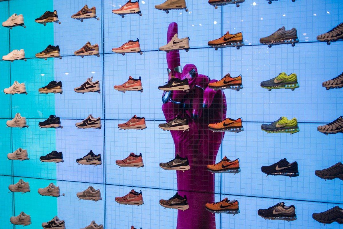 Trump Nike adidas