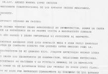 Esta es la carta que entregó la mamá del 'Chapo' a AMLO