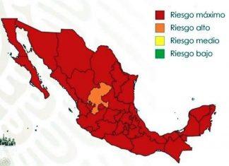 Inicia 'nueva normalidad' con 31 estados en rojo