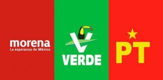 Morena, Partido Verde y PT anuncian un frente para la defensa del Gobierno de AMLO