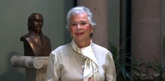 Olga Sánchez blindada con gotas de nanomoléculas