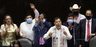 Yo soy presidente de la Cámara de Diputados en el corazón del pueblo de México: Fernández Noroña