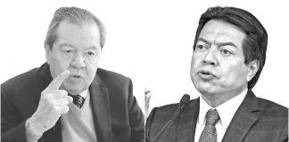 Pleito entre Muñoz Ledo y Delgado por Morena se traslada a diputados y senadores