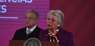 AMLO y Sánchez Cordero difieren sobre las causas del feminicidio