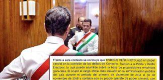 Acusa FGR a Peña Nieto de traidor y jefe criminal