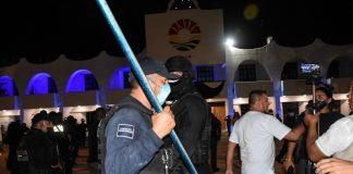 Cancún, la policía y el uso de la fuerza