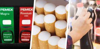 Gasolinas, cigarros y refrescos: esto subirá de precio en 2021 por aumento al IEPS