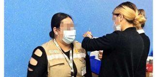 Alteran la fila de vacunación contra Covid