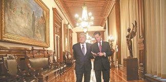 """Los tesoros de Palacio Nacional y las tareas de su nuevo """"gobernador"""""""