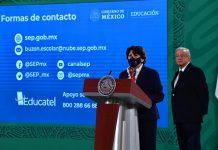Acuerdo de confidencialidad en libros de texto no es una ley mordaza: Delfina Gómez