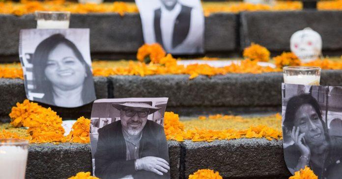 Amnistía Internacional reporta 19 asesinatos contra periodistas en México en 2020
